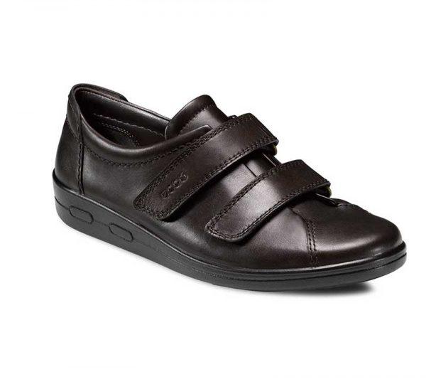 Ecco Werkschoenen.Ecco Dm Soft Klitteband Veiligheidsschoenen